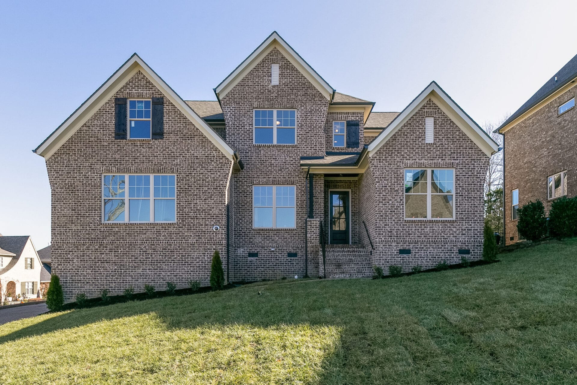 New Home for Sale in Enclave at Dove Lake. It is one of Williamson County's newest exclusive home communities. Home has elegant floor plans with exquisite brick and stone exteriors.